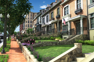 Cathedral-Commons-Gallery-Exterior-Newark-Townhouses