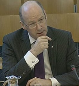 John Swinney MSP 'Positive news'