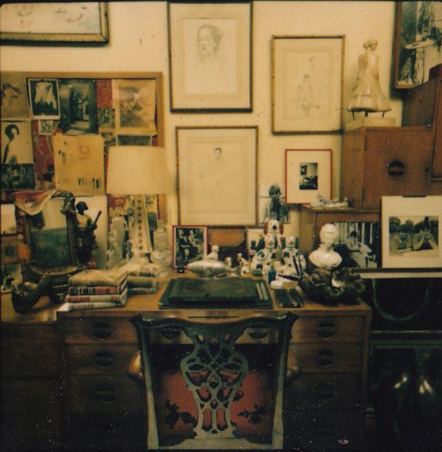diana vreeland home office desk