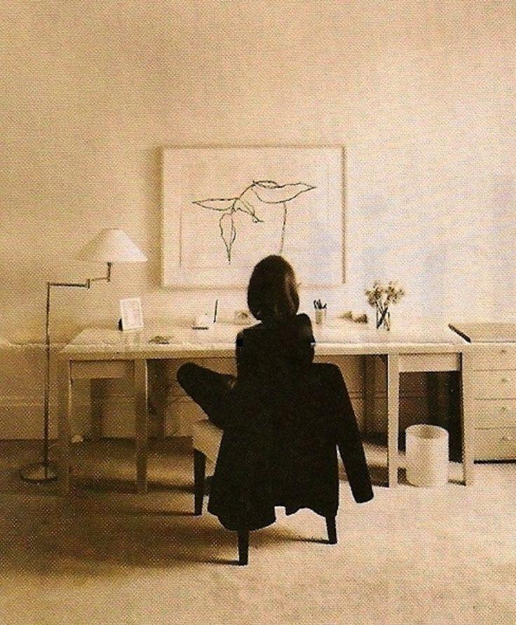 lee radziwill desk interior design