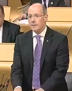 John Swinney Finance Secretary