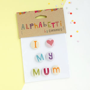 Mothers Day Personalised Magnets - kitchen