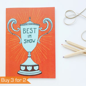 Best In Show A5 Notebook