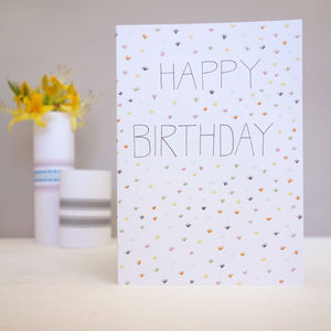 Happy Birthday Card - shop by category