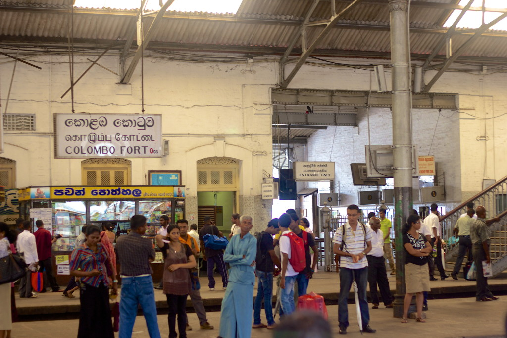 Railway station in Colombo