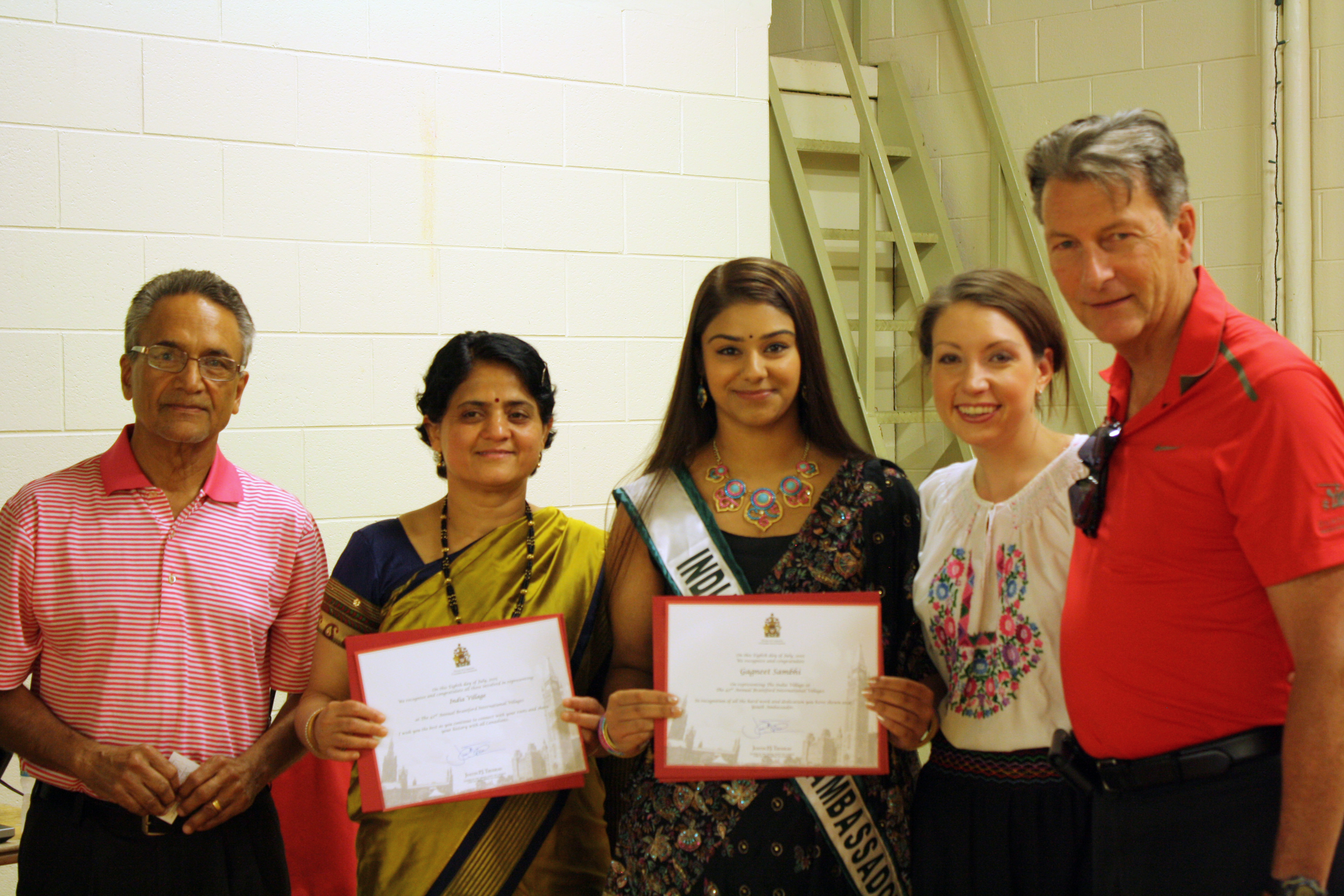 Takacs, McKay, Village Ambassador and Other India Village Volunteers July 11, 2015