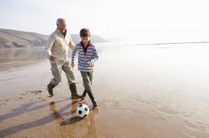 Grands pères sportifs