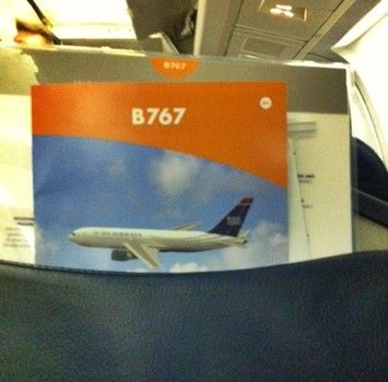 Let's get down to business: Business class to Brussels, Belgium on US Airways