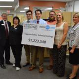 Governor Walker visits Chippewa Valley Technical College to award funds through Wisconsin Fast Forward to train workers for in-demand careers.  7/18/14