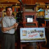 Governor Walker tours Leinenkugel's Leinie Lodge in Chippewa Falls during Tourism Week 2014.  5/8/14