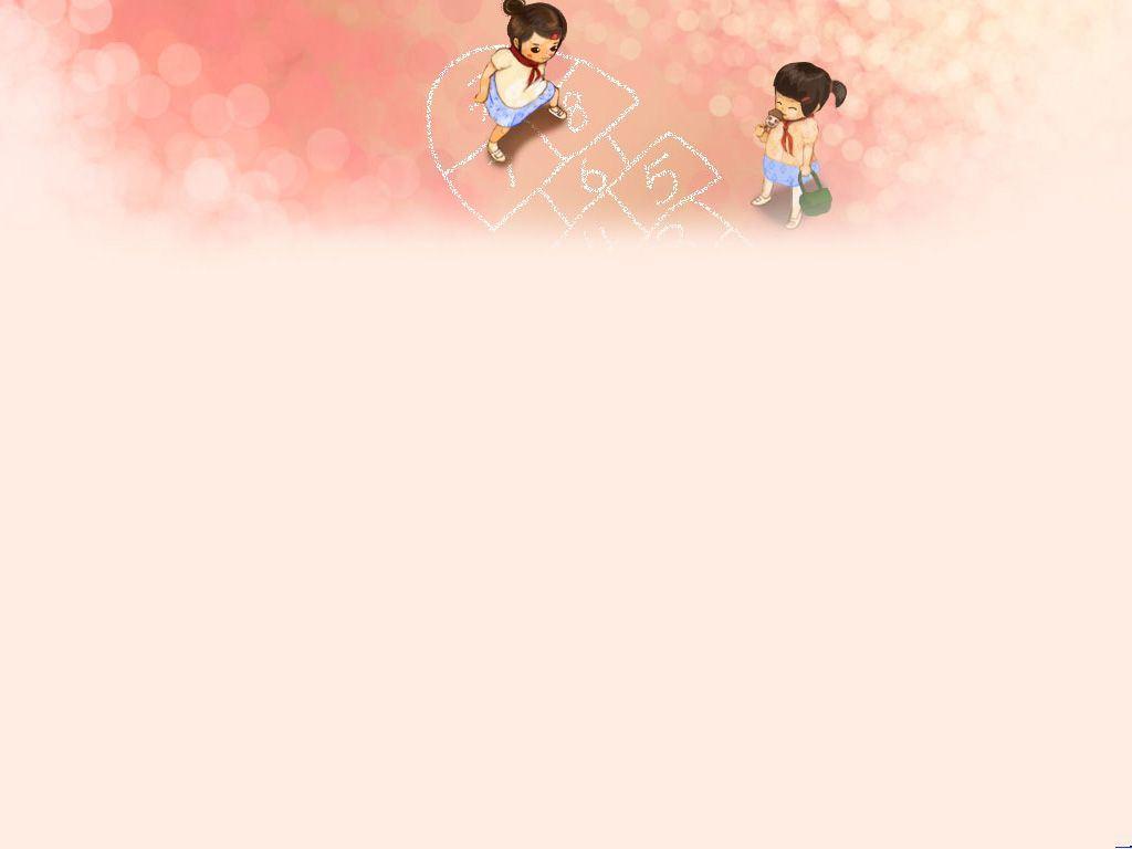 童年格子游戏 动态ppt背景图片