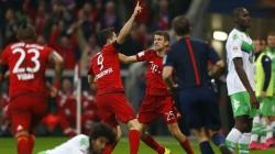 VIDEO: Half-time sub Lewandowski nets five in nine minutes against Wolfsburg