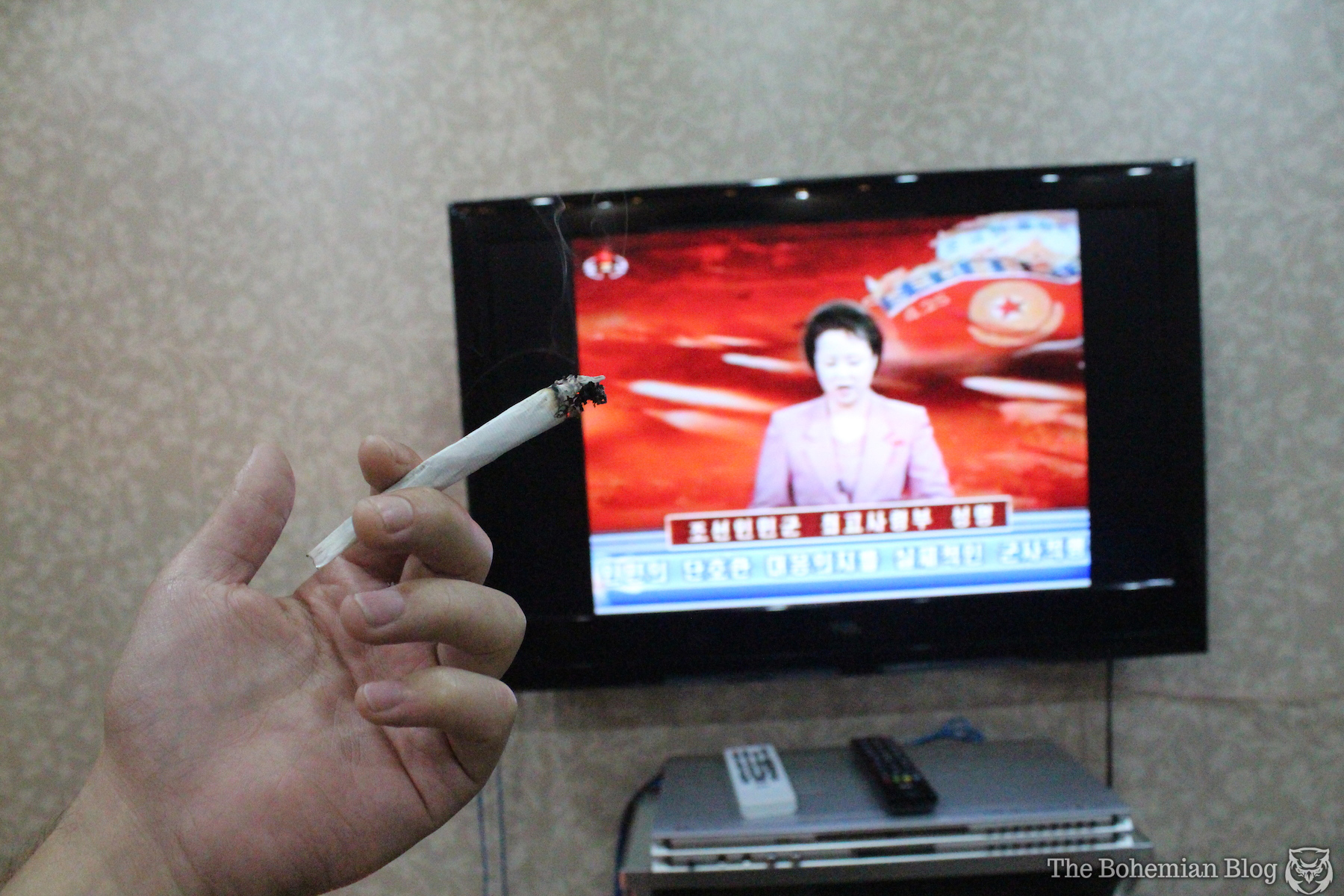 Smoking Weed in North Korea - 9-DR