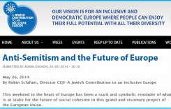 "Jews Object to ""Xenophobic"" Euro Parties; But Support Ultra-Xenophobic Israel"