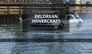 Delorean Hovercraft Project