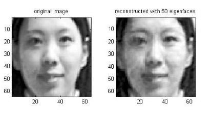 image recoginition and principal component analysis