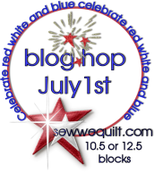 RED, WHITE and BLUE Blog Hop