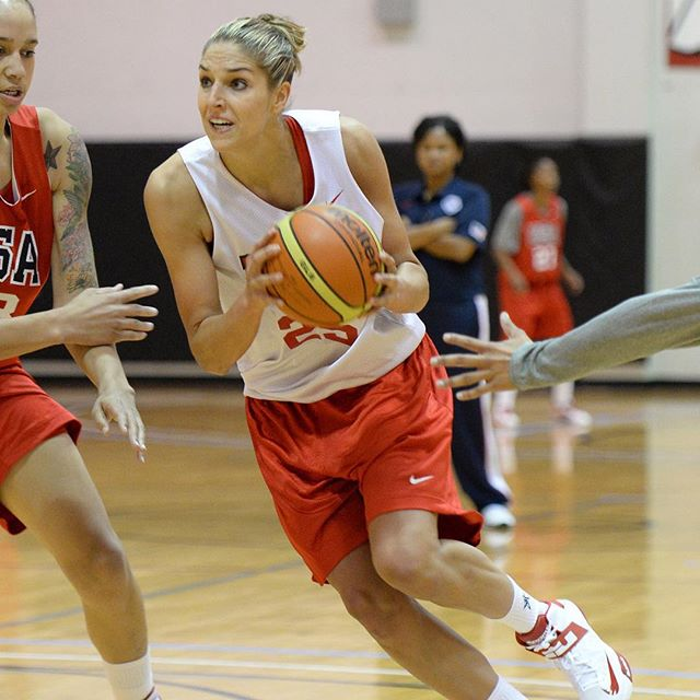 Happy birthday to Elena Delle Donne, 2016 Olympic hopeful and member of the USA Basketball Women's National Team. Make it a great day!  @de11edonne