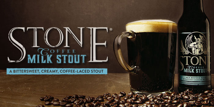 Stone Coffee Milk Stout - Available October 5!