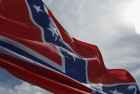 A Group Of Men And Women Flew Confederate Flags Outside Of A Black Kid's Birthday Party
