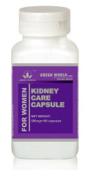Kidney capsule care for women