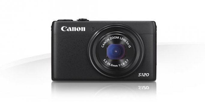 Canon PowerShot S120 frontal