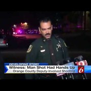 Florida deputy shooting: Another Michael Brown-like shooting? Unarmed man shot