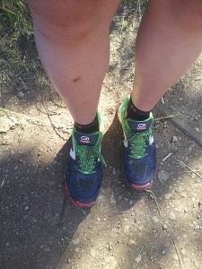 Voici mes chaussures de trail Kalenji Kapteren XT4 © Testeurs Outdoor