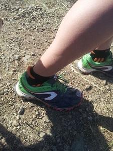Les chaussures de trail Kalenji Kapteren XT4 adorent la poussière... © Testeurs-Outdoor
