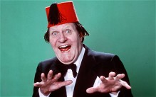 Timeless comedy: a lot of what used to be funny has gone out of date, but not Tommy Cooper