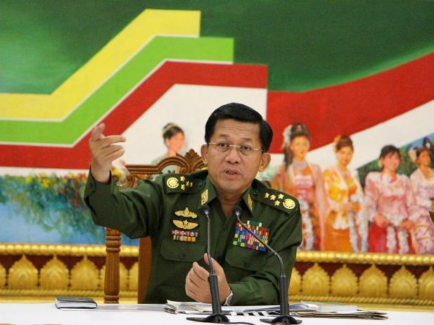 myanmar-General Min Aung Hlaing