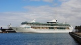 Royal Caribbean cruise ship catches fire
