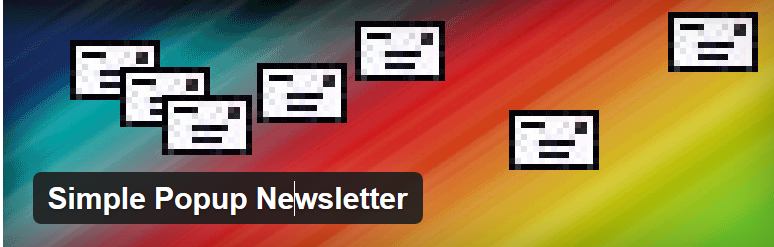 simple popup newsletter