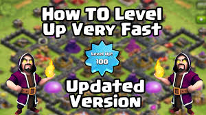 fast level up clash of clans