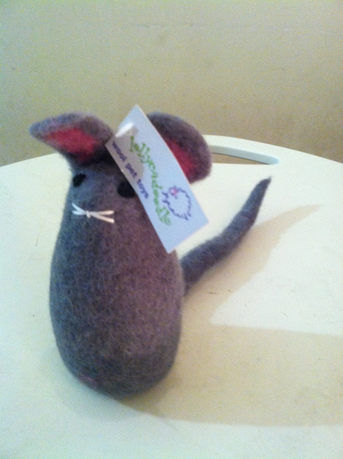 Lollycadoodle Wool Felt Mouse