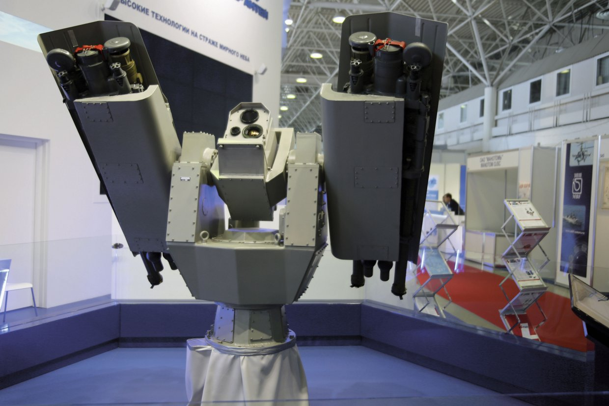 RATEP's Komar turret mount is to be fitted to all of Russia's Buyan-M corvettes (Nikolai Novichkov)