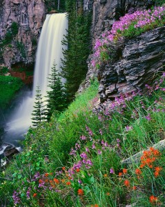 "waterfall - Bend, OR ALT=""waterfall and negative ions"""