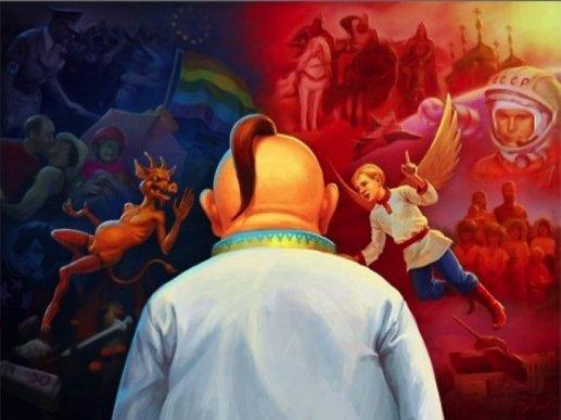 Rusijos propaganda, nuotr. vk.com