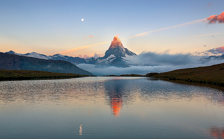 These are the stunning pictures of mountainous landscapes in the heart of Europe - showing off the natural beauty of the Italian lakes to the Swiss Alps by Andrea Visca from Rome, Italy