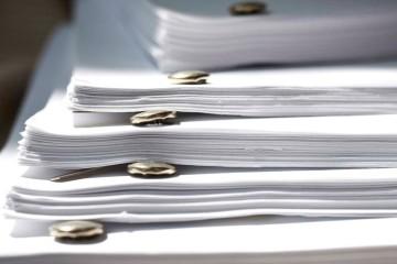 a window into an executive's script pile