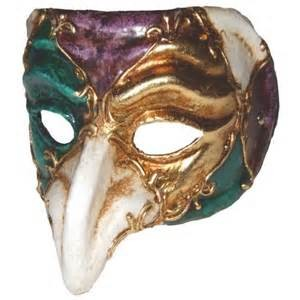 Mardi Gras Beak Mask