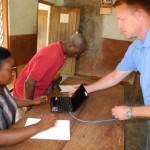 Teaching Bible translators to use a computers and email in Cameroon