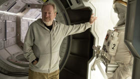 Ridley Scott and 'The Martian' Head for Multiple Oscars (EXCLUSIVE VIDEO)