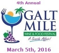 Galt Mile Wine and Food Festival A Seaside Affair 2016