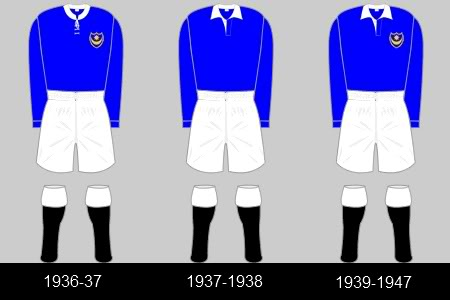 1930'2 -1940's portsmouth shirts