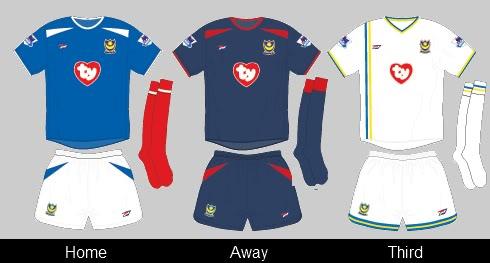 pompey shirt 2004-05
