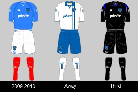 portsmouth shirt/kit