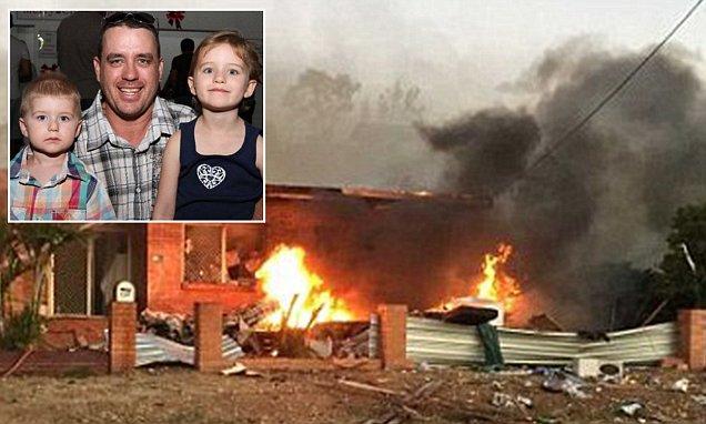 Queensland father's words before he died with his children in Mount Isa caravan explosion