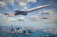Airbus have partnered with Aerion for AS2 plane capable of supersonic travel - hitting speeds of 1,217mph