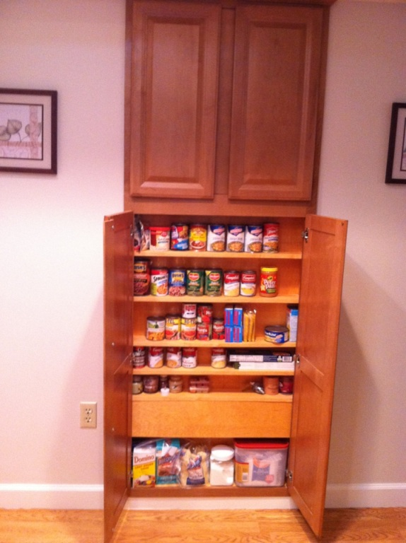 Kitchen Storage Cabinet In Wall